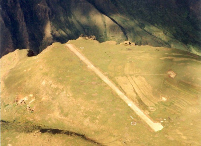 Самые опасные аэропорты мира. Необычный аэропорт Лесото (Африка)