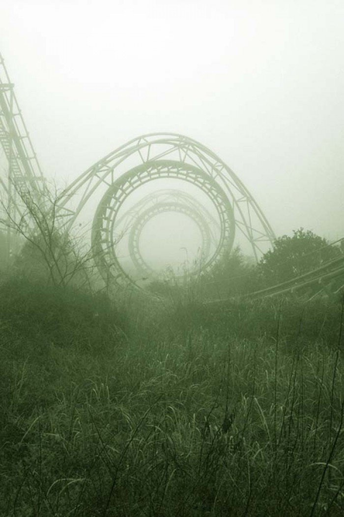 Красиві покинуті місця світу, фото - Парк «Нара Дрімленд», Японія