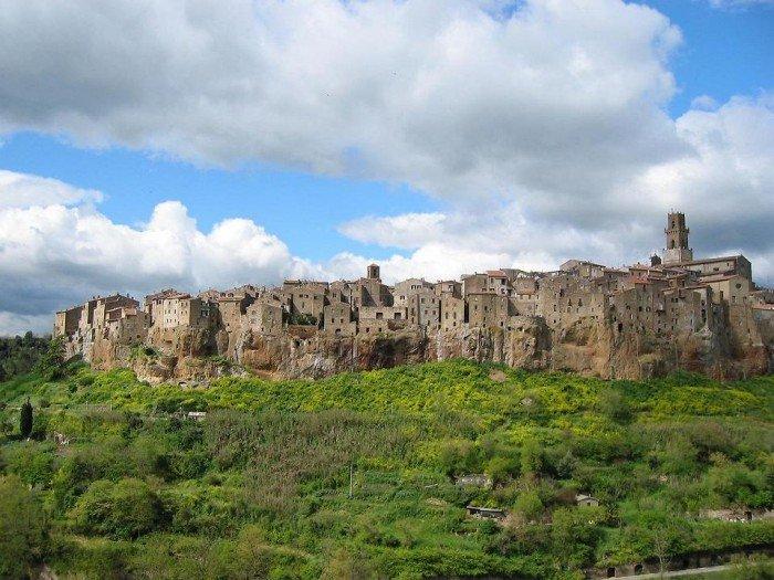 Самые красивые деревни Европы, фото - село Питильяно, Италия