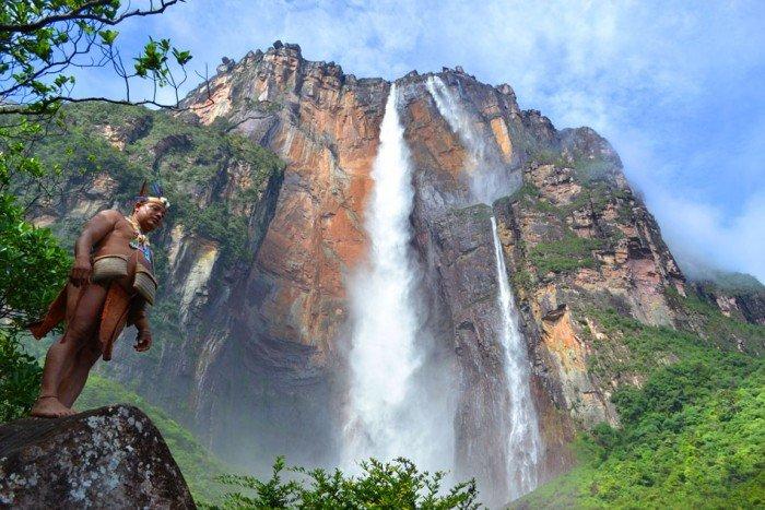 Найвищі водоспади світу - Анхель (Венесуела), фото 1