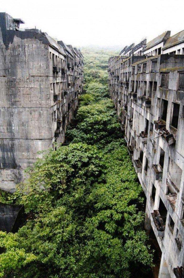 Заброшенные и таинственные места Земли, фото - Заброшенный город Килунг, Тайвань