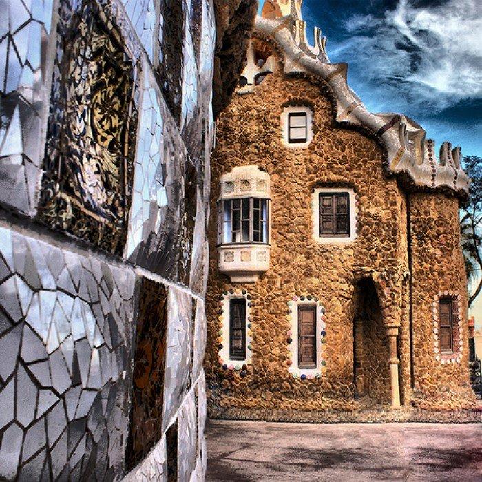 Пряникові будиночки, Парк Гуеля, Барселона, Іспанія