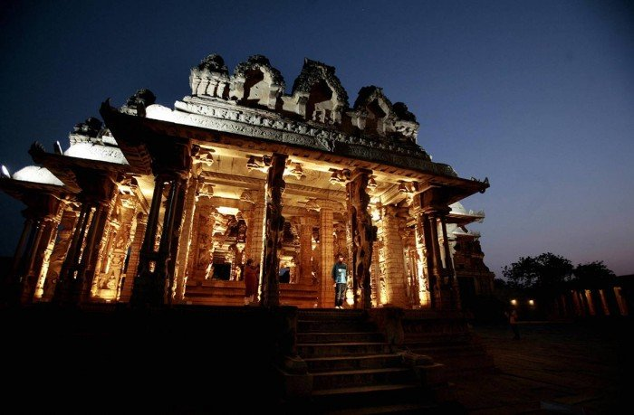 Всемирное наследие ЮНЕСКО, фото - Храм Хампи