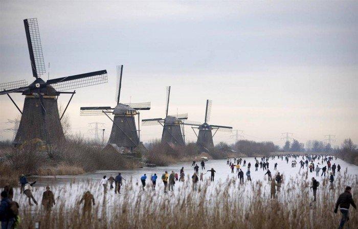 Всесвітня спадщина ЮНЕСКО, фото - Кіндердайк, вітряки