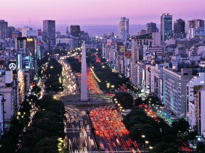 Рейтинг найкрасивіших міст світу, фото Буенос-Айрес