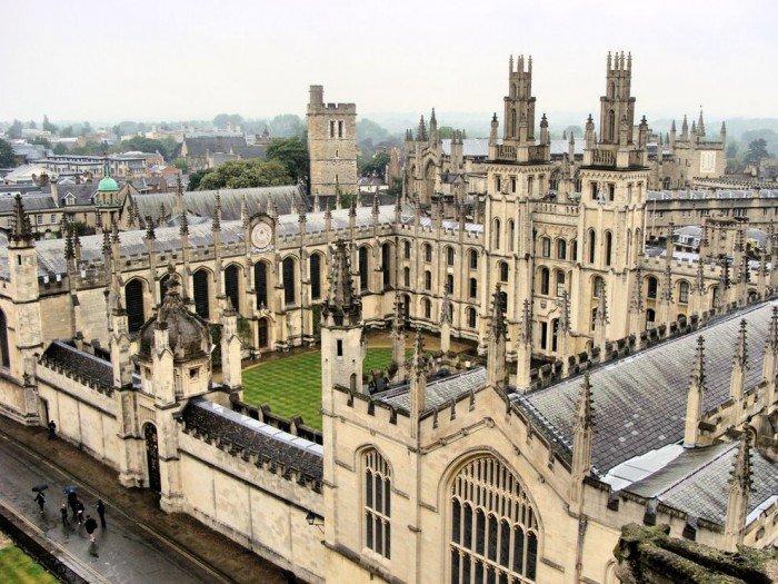 Знаменитые университеты мира, фото - Оксфордский университет