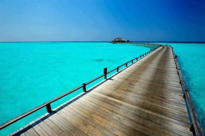 Райські місця на землі - Небесна блакить, Мальдіви
