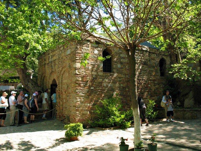 Місця, де збуваються мрії - Дім Діви Марії, Туреччина