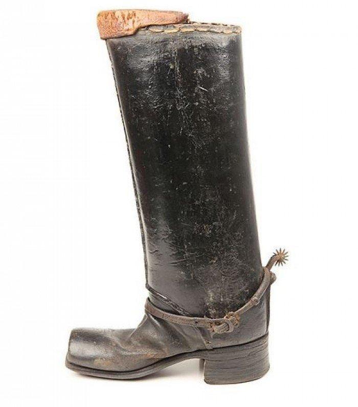 Каблуки на обуви для верховой езды/история каблуков