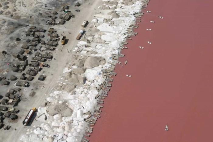 Рожеве озеро Ретба (Сенегал) - фото 2