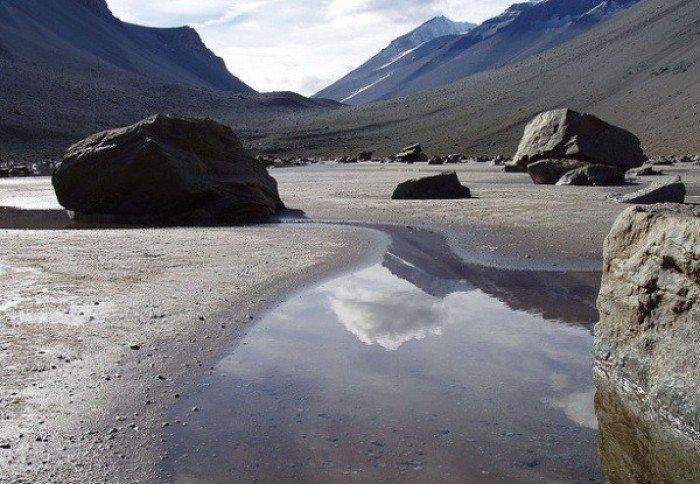 Тайны Антарктиды - реки