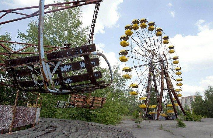 Красиві покинуті місця світу, фото - Прип'ять, Україна