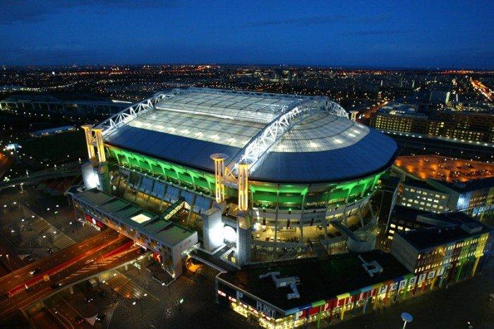 Найбільші стадони Європи для футболу - Амстердам