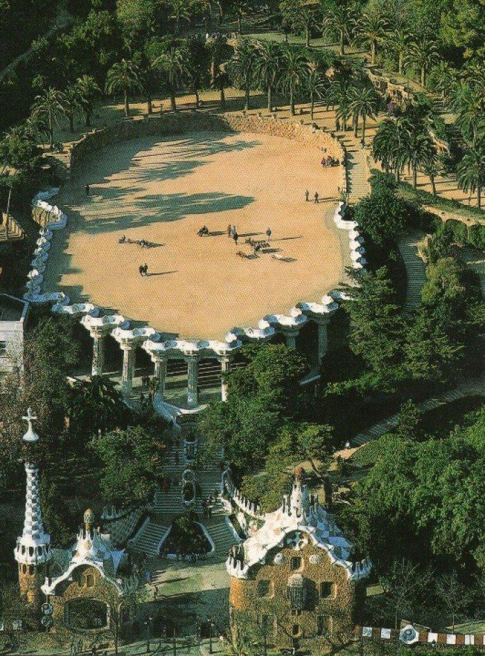 Парк Гуэля, Барселона - фото 11