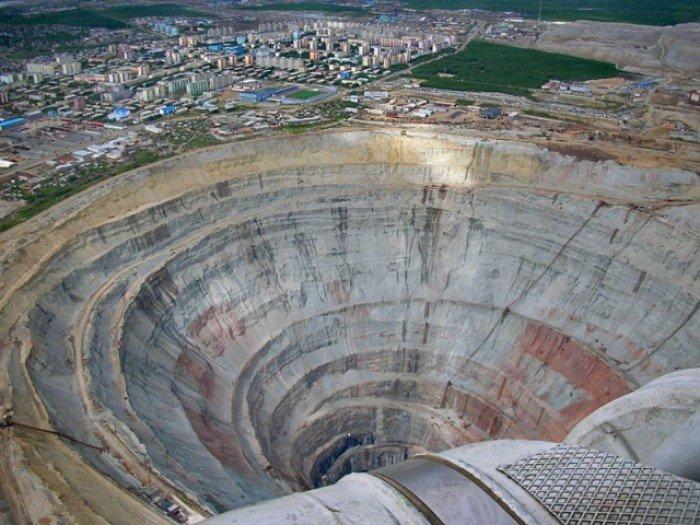 Алмазный карьер, Мирный (Якутия) - фото 3