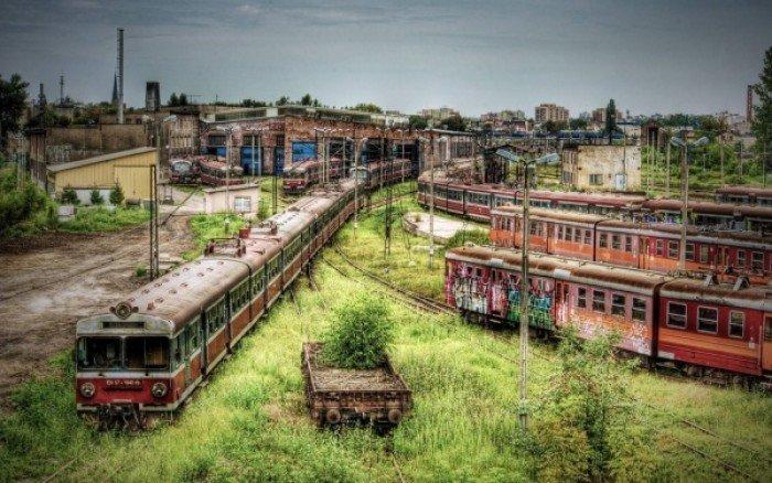 Красиві покинуті місця світу, фото - Закинуте депо метро, Цинциннаті