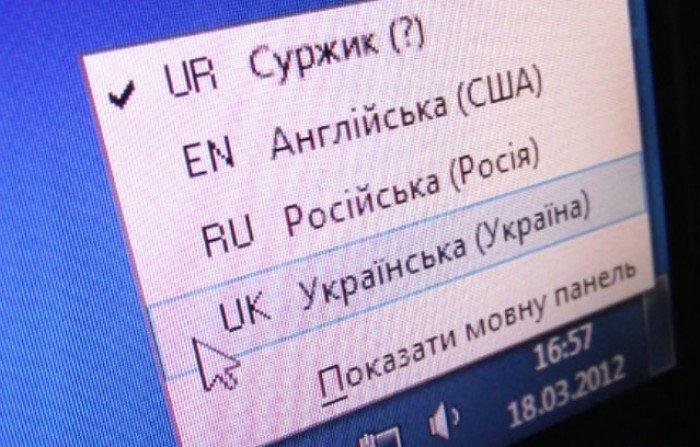 Суржик – спілкування в інтернеті