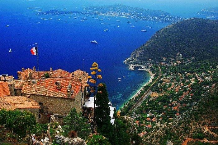 Самые красивые деревни Европы, фото - село Эз, Франция