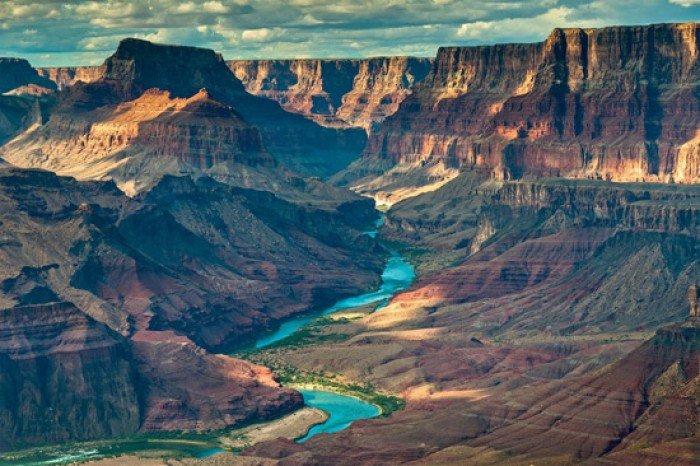 Красивые пейзажи природы. Фото - США, Гранд-Каньон