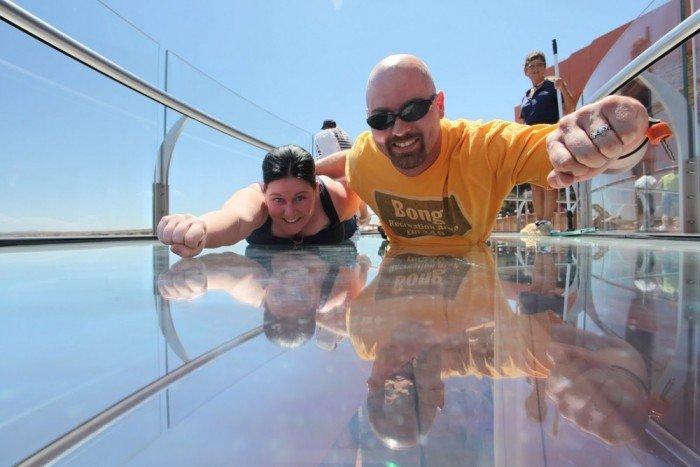 Оглядовий майданчик Skywalk над Великим Каньйоном(США) - фото 9