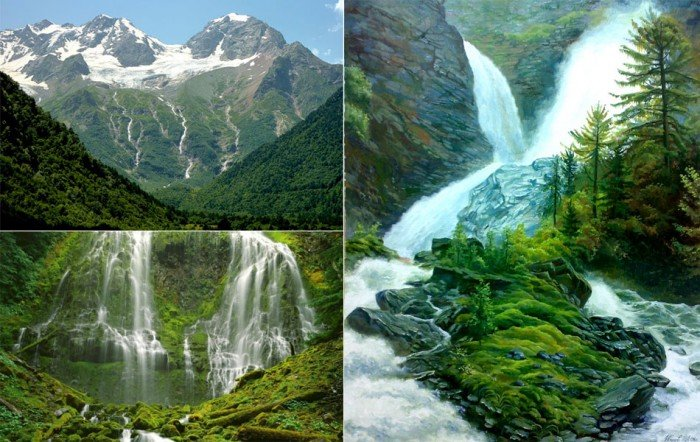Найвищі водоспади світу - Три сестри (Перу), фото 1