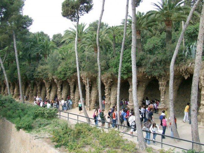 Парк Гуеля в Барселоні - фото 17