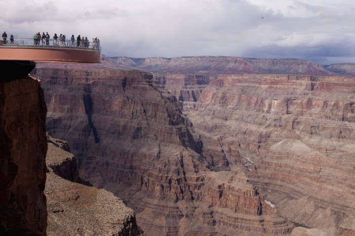 Оглядовий майданчик Skywalk над Великим Каньйоном(США) - фото 7