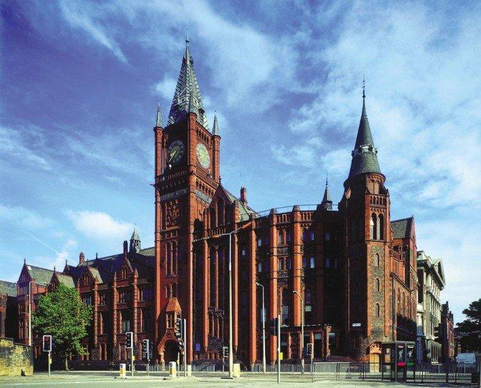 Знаменитые университеты мира, фото - Университет Ливерпуля