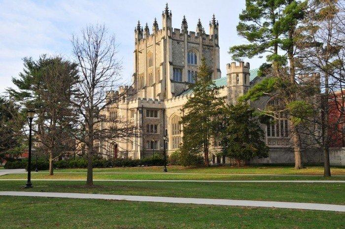 Знаменитые университеты мира, фото - Колледж Вассар
