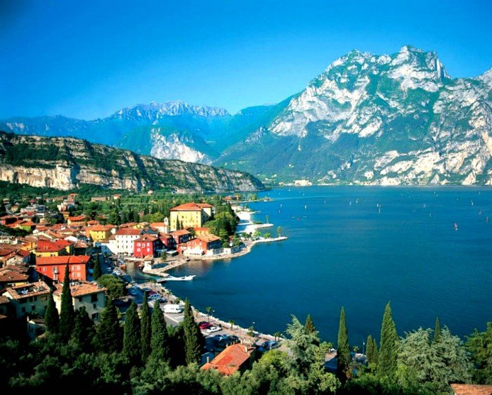 Самые красивые озера мира, фото - Гарда