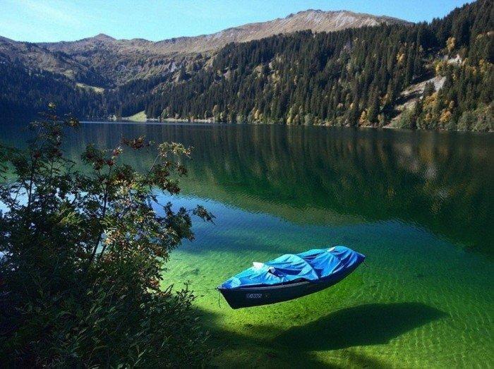 Самые красивые сады мира - Зеленое озеро, Австрия
