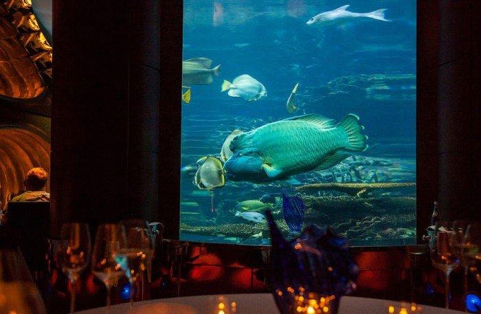 Ресторан акваріум «Аль Махара» в Дубаї, фото 4