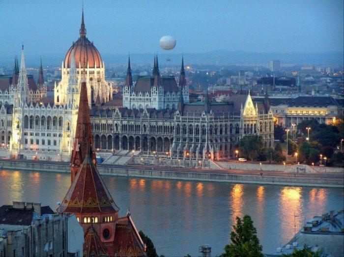 Рейтинг найкрасивіших міст світу, фото Будапешт
