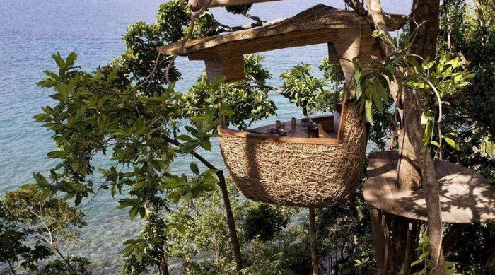Ресторан на дереве «Птичье гнездо» в Таиланде, фото 3