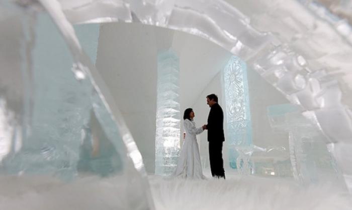 """Ледяной отель """"Hotel of Ice"""", Канада - фото 4"""