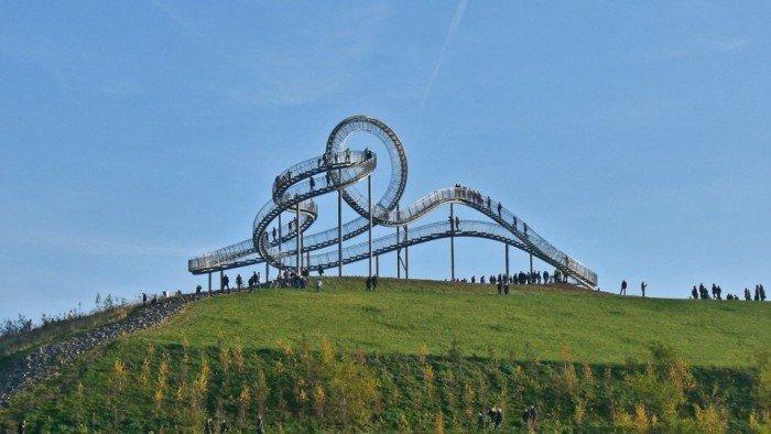 Известные лестницы мира. Необычная лестница в Германии