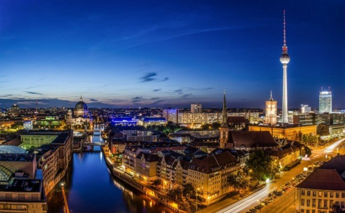 Рейтинг найкрасивіших міст світу, фото Берлін