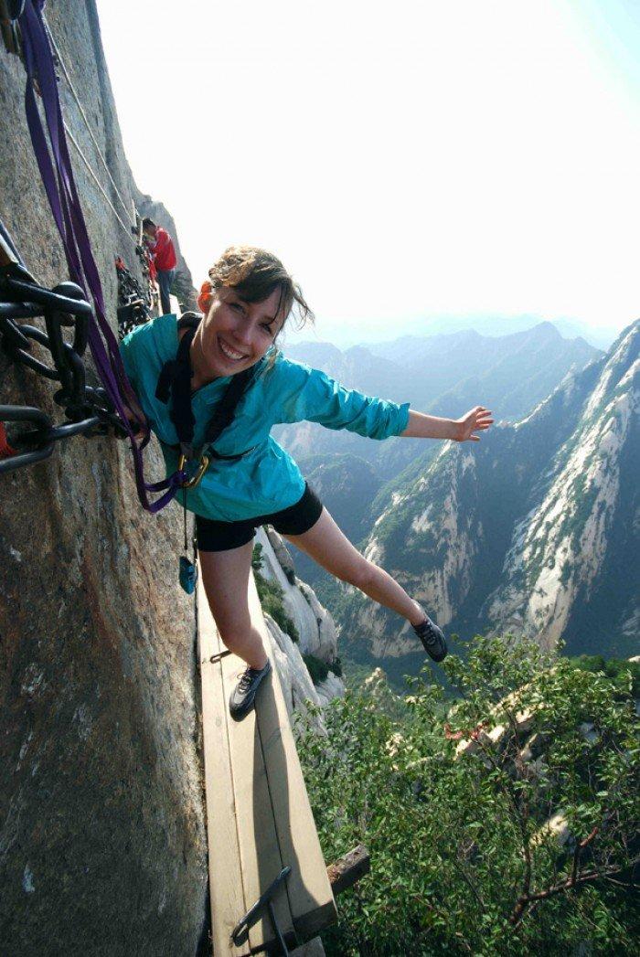 """""""Стежка смерті"""" в Китаї - найстрашніша стежка в світі. Фото 5"""