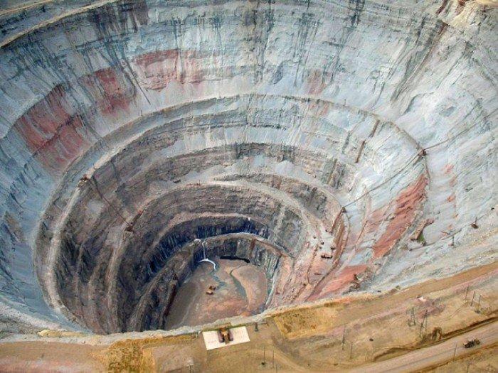 Алмазный карьер, Мирный (Якутия) - фото 4