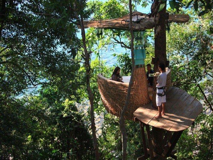 Ресторан-гнездо в Таиланде, фото 2