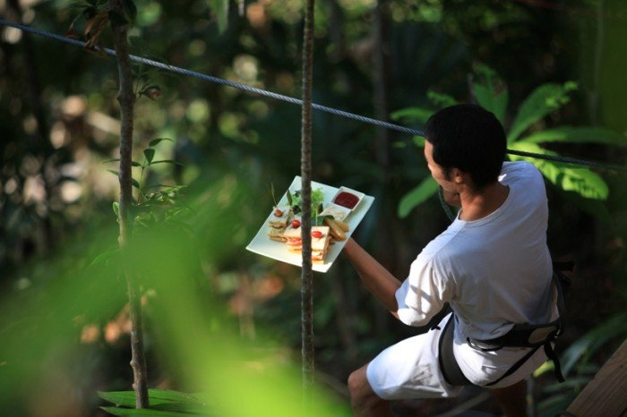 Ресторан-гнездо в Таиланде, фото 3