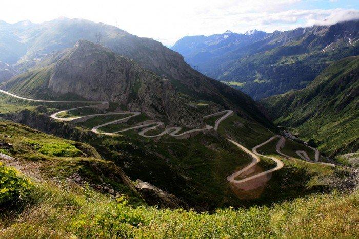 Найкрасивіші дороги світу - Сен-Готард, Альпи