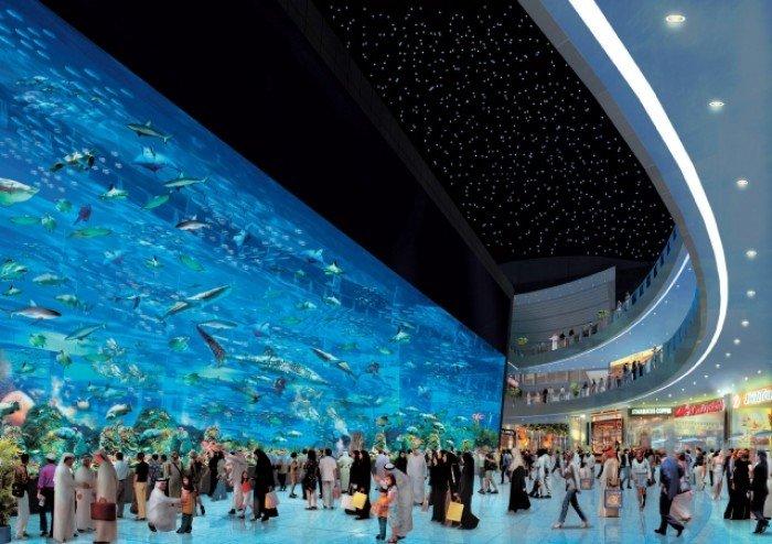 Самые большие аквариумы в мире - Дубай, фото 1
