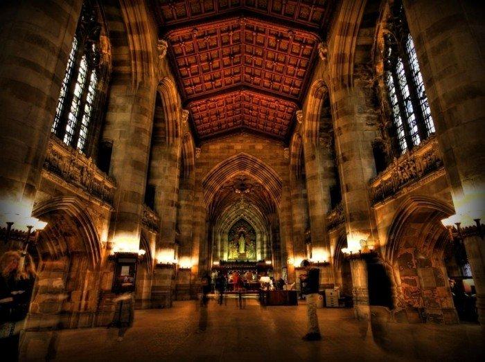 Знаменитые университеты мира, фото - Йельский университет
