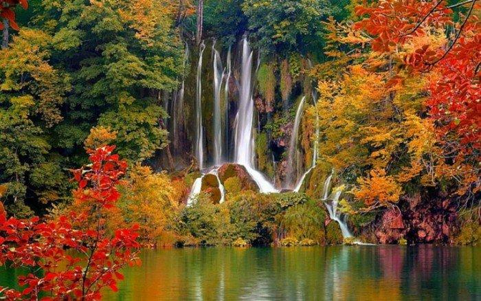 Самые красивые озера мира, фото - Птитвицкие озера