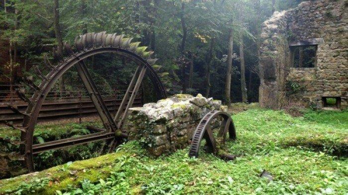 Заброшенные и таинственные места Земли, фото - Промывочный барабан во Франции