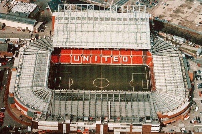 Найбільші стадони Європи для футболу - Манчестер