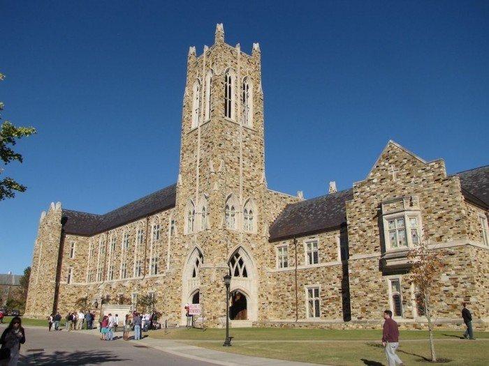 Знаменитые университеты мира, фото - Родесский колледж