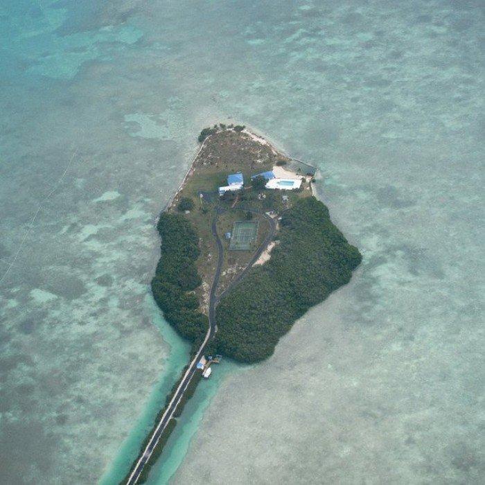 Необычные острова, фото - остров-легкие