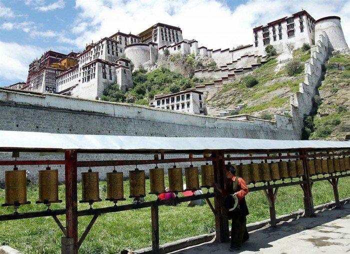 Всесвітня спадщина ЮНЕСКО, фото - Палац Потала, Тибет